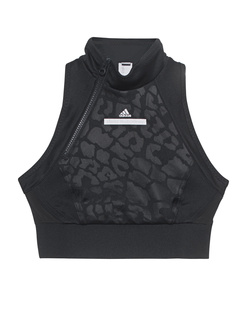 ADIDAS BY STELLA MCCARTNEY Exercise Crop Top Black