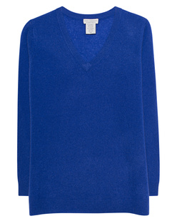 OATS Cashmere Sanibel Vneck Blue