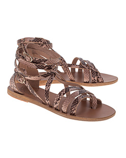 Ancient Greek Sandals Python Nude