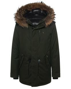 MACKAGE Fur Parka Army Green