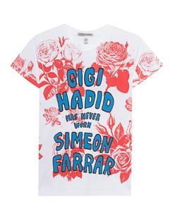 SIMEON FARRAR Gigi Roses White
