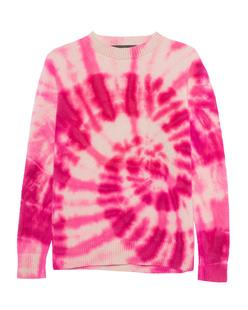 The Elder Statesman Swirl Tie Dye Pink