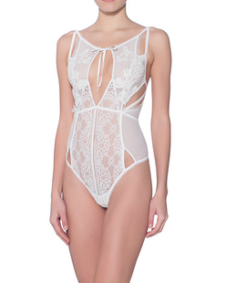 FOR LOVE AND LEMONS Lace Ivory