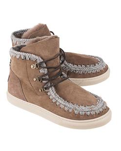 MOU Sneaker Lace-Up Dark Stone