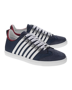 DSQUARED2 Low Stripes Navy