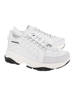 8c4d92faebbaf5 DSQUARED2 Vitello Sport White ...