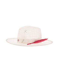 Ruslan Baginskiy Straw Hat Off-White