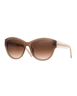 Nina Ricci Eyewear Gradient Brown