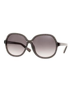 Nina Ricci Eyewear Sparkle Gradient Grey