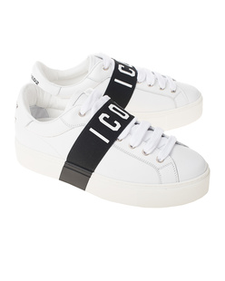 DSQUARED2 Icon Vitello Sport White