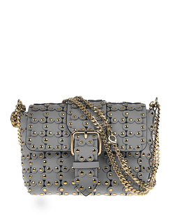 RED VALENTINO Mini Cross Body Puzzle Grey