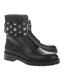 RED VALENTINO Biker Studs Black