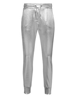 ZOE KARSSEN Slim Fit Sweatpants Silver Foil
