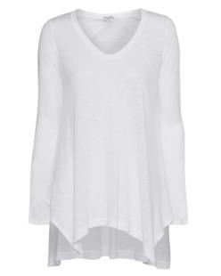 SPLENDID Slub Jersey Tunic White