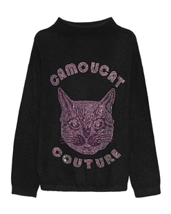 CAMOUFLAGE COUTURE STORK Camoucat Black