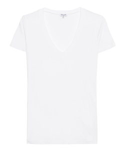 SPLENDID Very Light Jersey V-Neck White