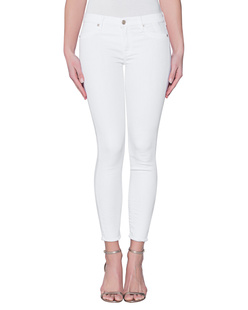 7 FOR ALL MANKIND The Skinny Crop Fashion White
