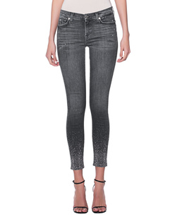 7 FOR ALL MANKIND The Skinny Crop Grey