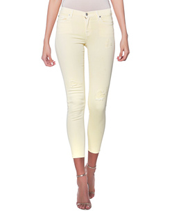 7 FOR ALL MANKIND The Skinny Crop Yellow