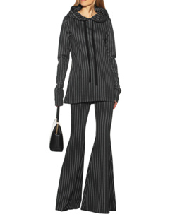 ILAY LIT Pinstripes Suit Grey