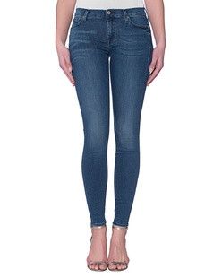 7 FOR ALL MANKIND The Skinny Slim Illusion Luxe Bright Indigo