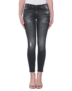 7 FOR ALL MANKIND The Skinny Slim Illusion Black Pearl