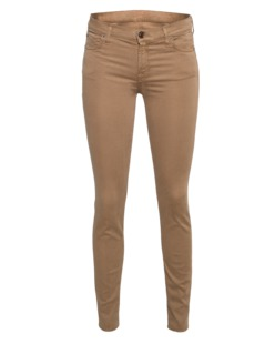 7 FOR ALL MANKIND The Skinny Riche Sateen Camel