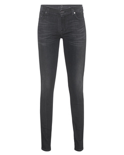7 FOR ALL MANKIND The Skinny Brushed In Riche Noir
