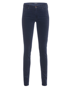 7 FOR ALL MANKIND The Skinny Velvet Blue