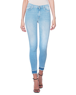 7 FOR ALL MANKIND Skinny Cropped Blue