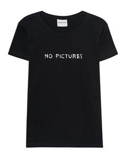 NASASEASONS No Pictures Shirt Black