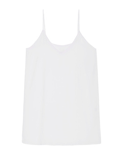 JADICTED Silk V Neck White