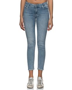 AG Jeans Prima Crop Low Rise Cigarette Light Blue