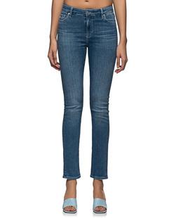 AG Jeans Mari High Rise Straight Blue