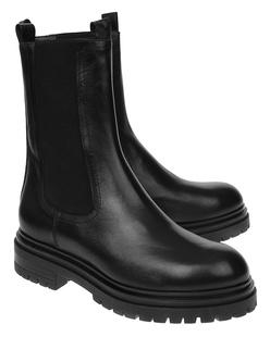 BUKELA Boot Leather Black