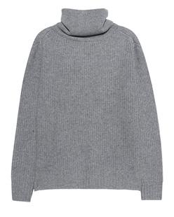 JADICTED Cashmere Turtleneck Light Grey