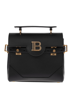 BALMAIN BBUZZ Calf Skin Black