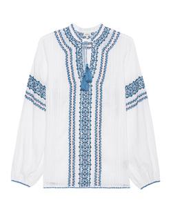 TALITHA Kumari Embroidery White