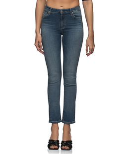 AG Jeans Mari High Rise Straight Dark Blue