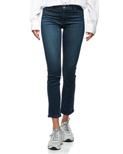 AG Jeans Mari High Rise Straight Dark Blue