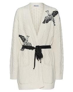 RED VALENTINO Knitted Cosy Off White