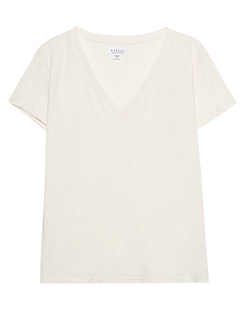 VELVET BY GRAHAM & SPENCER Oversize V Neck Coconut Off White
