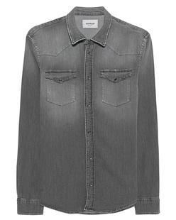 Dondup Western Shirt Grey