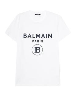 BALMAIN Rubber Logo White
