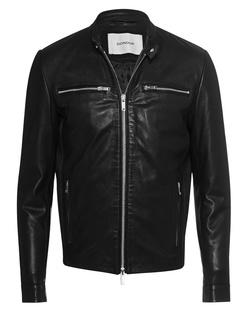 Dondup Leather Zipper Black