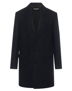 Dondup Wool Leather Navy