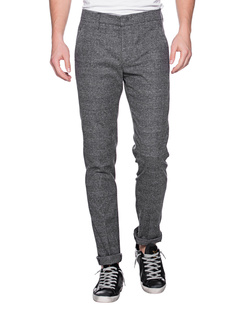 Dondup Gaubert Checked Grey