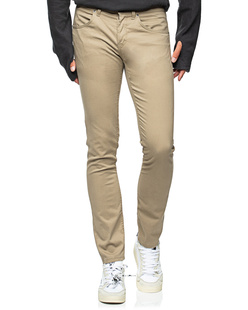 Dondup Travis Slim Fit 5 Pocket Beige