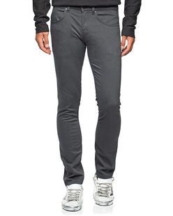 Dondup Travis Slim Fit 5 Pocket Dark Grey