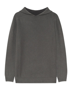 Dondup Knit Hood Washed Out Grey